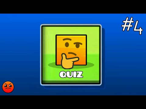 GEOMETRY DASH QUIZ #4 : Partition : What is your score? (Harder)
