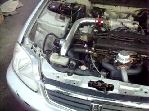 Whp Acura Integra Edelbrock Turbokit GTRS Turbo Th Mile - Acura integra turbo kit