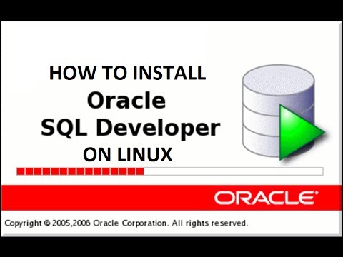 Install and configure sql developer on Linux | Oracle Tutorial