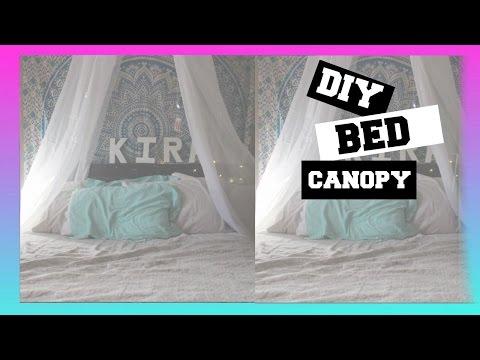 DIY| BED CANOPY