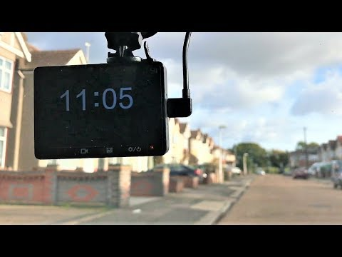 Yi Smart Dash Cam Review |Installation |setup with footage