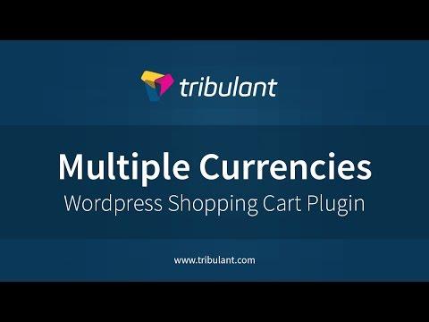 WordPress Shopping Cart plugin - Multiple Currencies