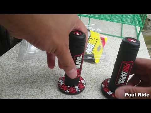 DIY - How to change motorcycle hand grips | Honda Beat Version 2