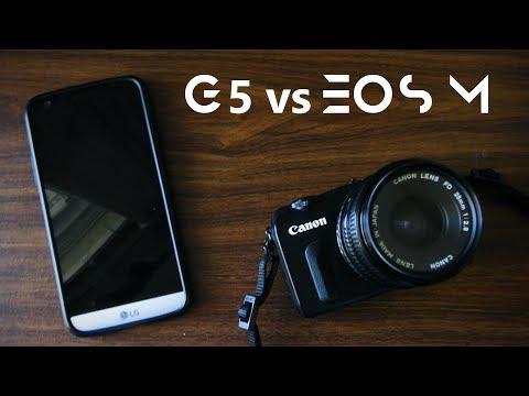 LG G5 vs Mirrorless - How good have smartphone cameras got?