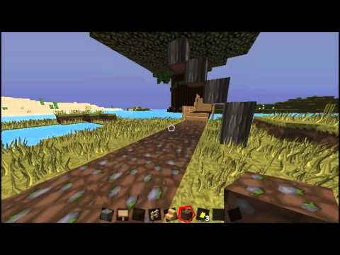 Minecraft: Speed Building The Warrior Cats Map - Part 3