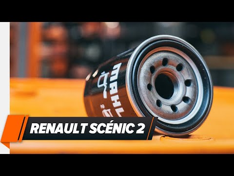 How to replace Engine Oil and Oil filter on RENAULT SCÉNIC 2 TUTORIAL | AUTODOC