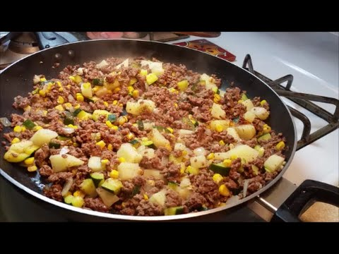 Picadillo Recipe - Ground Beef Hash Recipe