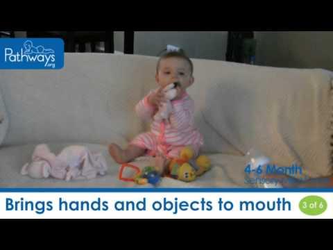 4 - 6 Month Baby - Sensory Milestones to Look For