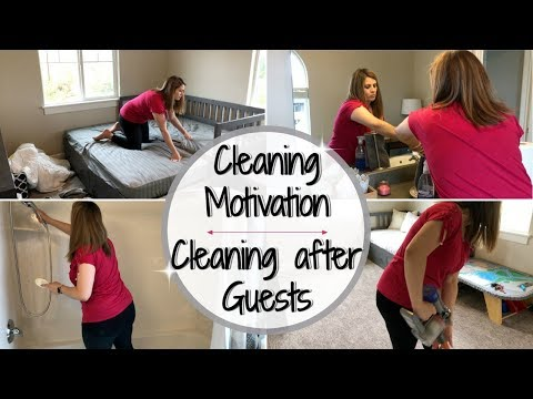 CLEAN WITH ME 2018 :: CLEANING MOTIVATION :: AFTER GUESTS CLEANING ROUTINE