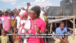 Ng'wana kang'wa sherehe ya mtoto  LIVE SHOW.