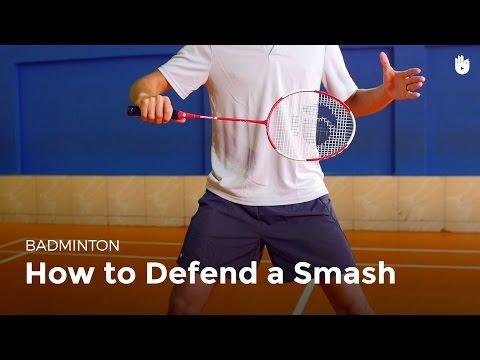 How to Defend a Smash   Badminton