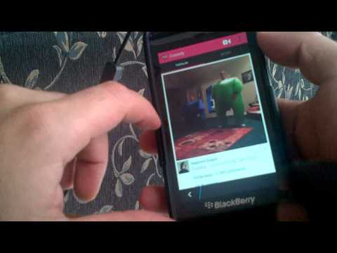 Vine on BlackBerry 10 (Q5, Q10, Z10, Z30) Sneak Peek