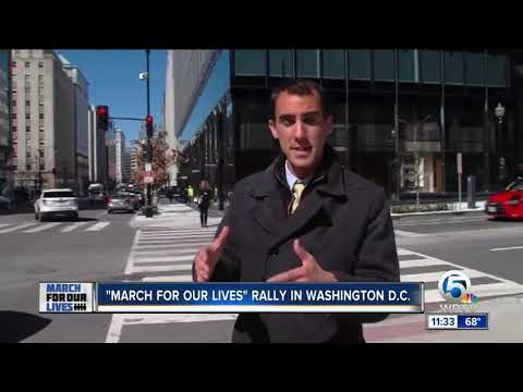 Reporter Alex Hagan arrives in Washington, D.C. to cover 'March for Our Lives'