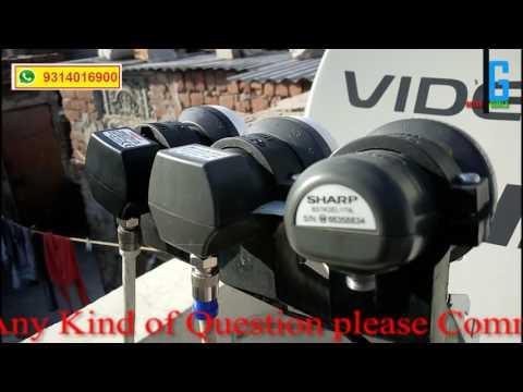 ABS, TATASKY, VIDEOCON, IN SINGLE DISH
