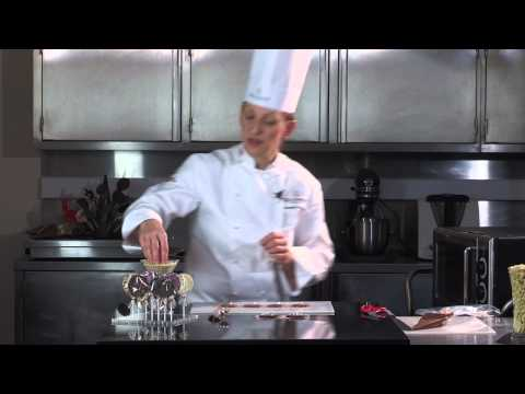 How to make Chocolate Lollipops with Callebaut Chocolate