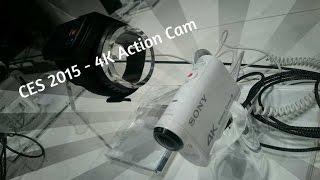 SONY 4K Action Cam X1000V @ CES 2015