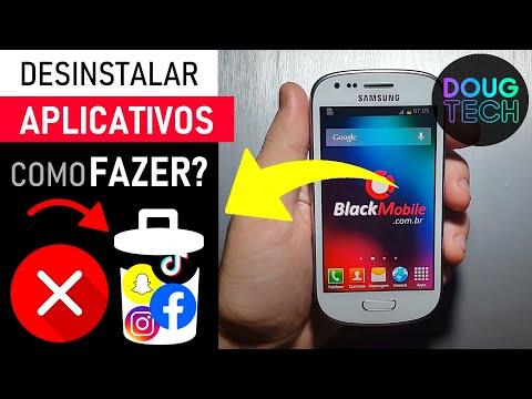 Samsung Galaxy S3 Mini - Como Desinstalar Aplicativos & Jogos - Blackmobile.com.br