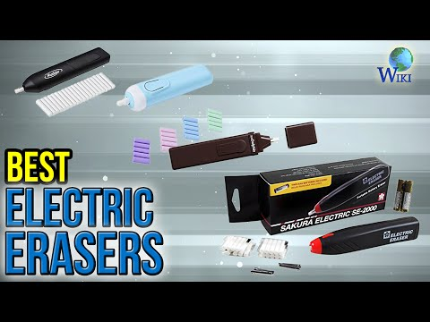 6 Best Electric Erasers 2017