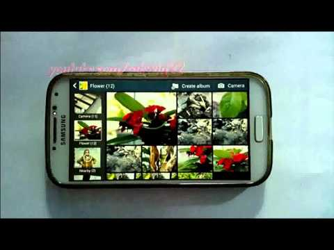 Android Phone : How to Change Slideshow Image Playing Order in Samsung Galaxy S4