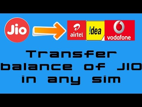 Transfer Talktime Balance From Jio to Any Other Sim, With Proof (Message Received)