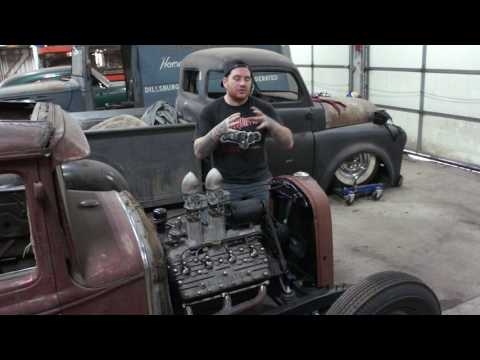 How to Build a Chopped Hot Rod Radiator- Pagoda City Coupe