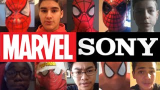 Spider man Fans Message To Marvel And Sony