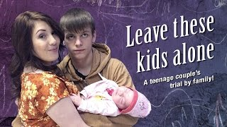 Leave these Kids Alone: A teenage couple