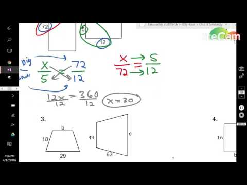 Similar Polygons Video with Perimeter