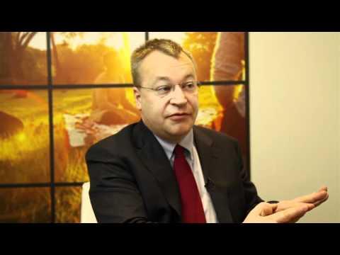 Interview: Nokia CEO Stephen Elop