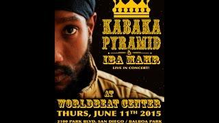 Kabaka Pyramid With Iba Mahr - Live! At Worldbeat Center