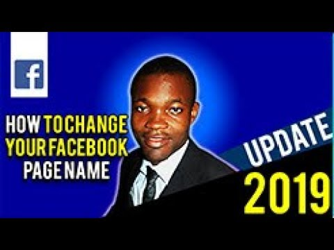 HOW TO CHANGE YOUR FACEBOOK BUSINESS PAGE NAME IN 2019 ON YOUR PC 100% WORKING