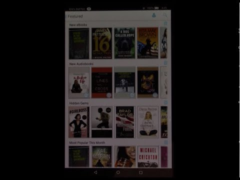Installing cloudLibrary on a Kindle Fire