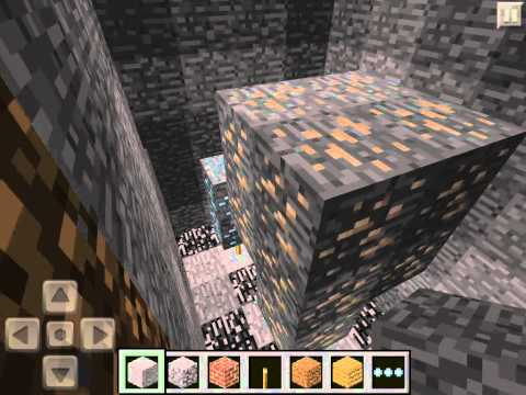 Minecraft Pocket Edition Seed Highlight : Easy Diamonds and Sugar Cane