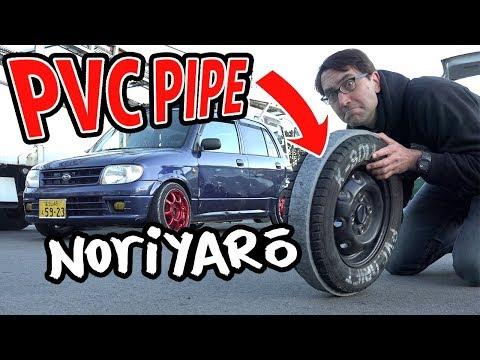 $300 drift car! PVC pipe drifting kei cars