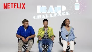 Thabang & Ama in a Rap Challenge judged by Nasty C | Blood & Water | Netflix