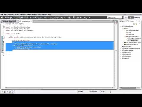 #1 3D Game Engine Tutorial: Creating a Window