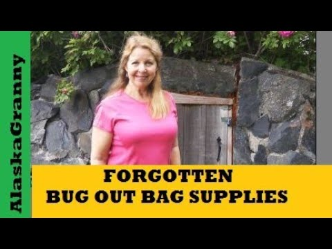 10 Forgotten Items For Your Bug Out Bag