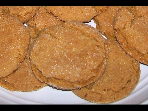 ♥♥ Best Gingerbread Cookies - Easy How to, Homemade Southern Recipe