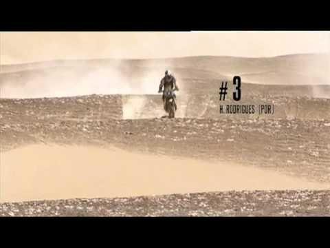 RESUMEN LO MEJOR DE LAS MOTOS DEL RALLY DAKAR 2012