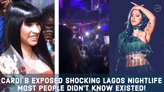 Cardi B Epic Nigeria Visit & Why People Are Talking About?