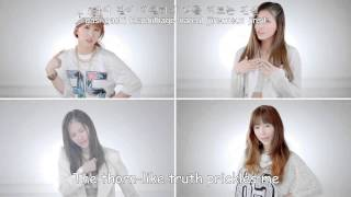 GLAM - In Front Of The Mirror MV [Eng Sub+Romanization+Hangul]