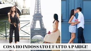 COSA HO INDOSSATO E FATTO A PARIGI! Elisabetta Pistoni