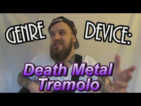 Genre Device: Death Metal Tremolo lesson