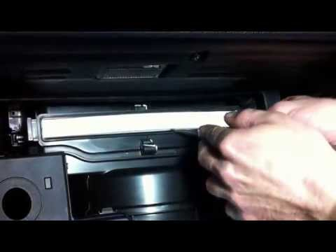 Kia Sportage SL. How to Cabin Air Filter replacement