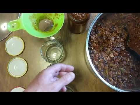 HOW TO BOTTLE BLACK BEAN CHIPOLTE TURKEY CHILI