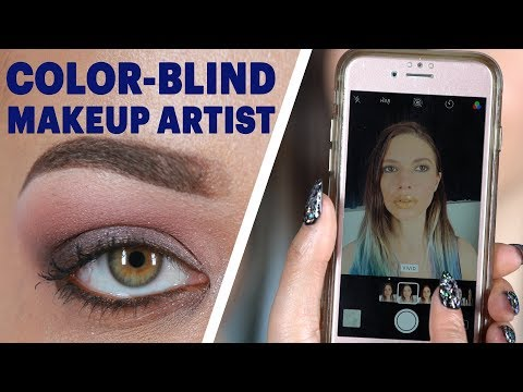 Here's What It's Like To Do Makeup When You're Color-Blind