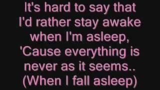 Owl City - Fireflies (Lyrics)