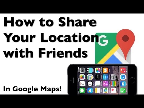 How to Share Your Location with Friends in Google Maps App for iPhone
