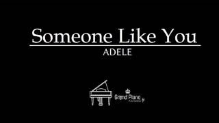 Someone Like You  Adele  Piano Karaoke
