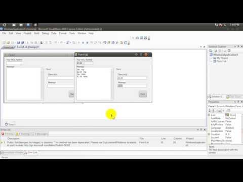 Lan Chat [VB.NET] + Source Code
